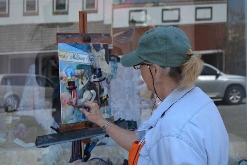 201814 Artist Painting 2018
