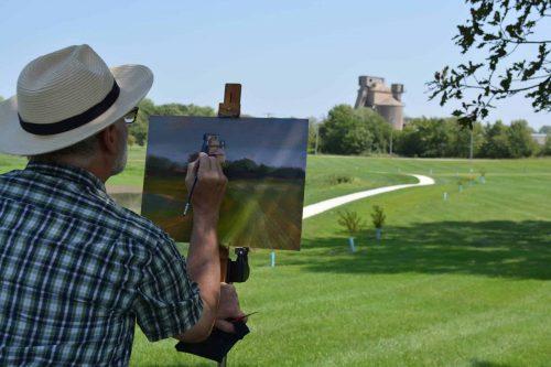 201806 Artist Painting 2018