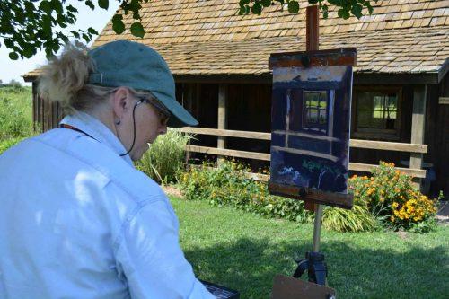 201801 Artist Painting 2018