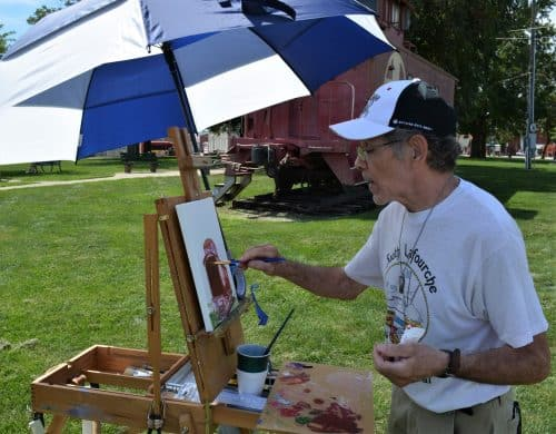 Artist Painting 2019 36