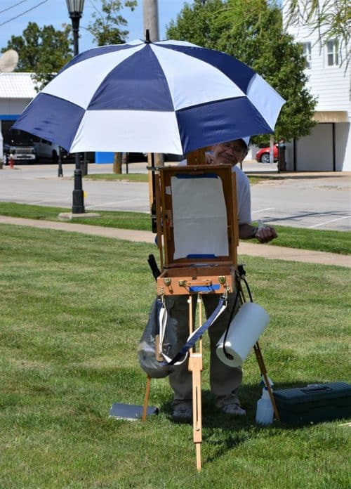 Artist Painting 2019 34