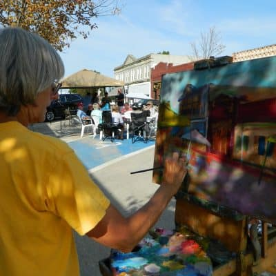 Artist Painting 2019 33