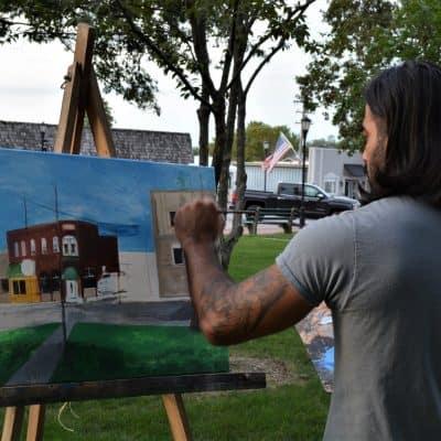 Artist Painting 2019 28
