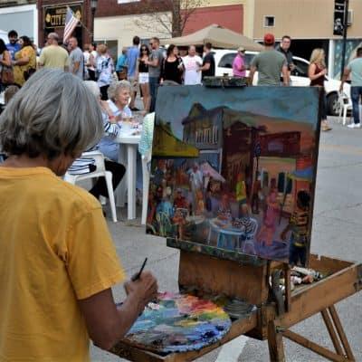 Artist Painting 2019 22