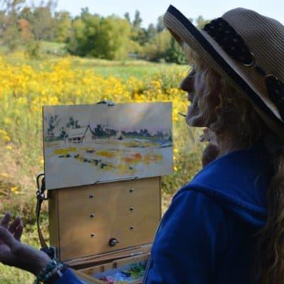 Artist Painting 2019 26