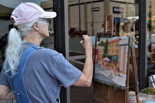 Artist Painting 2019 19