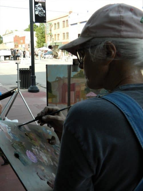 Artist Painting 2019 16