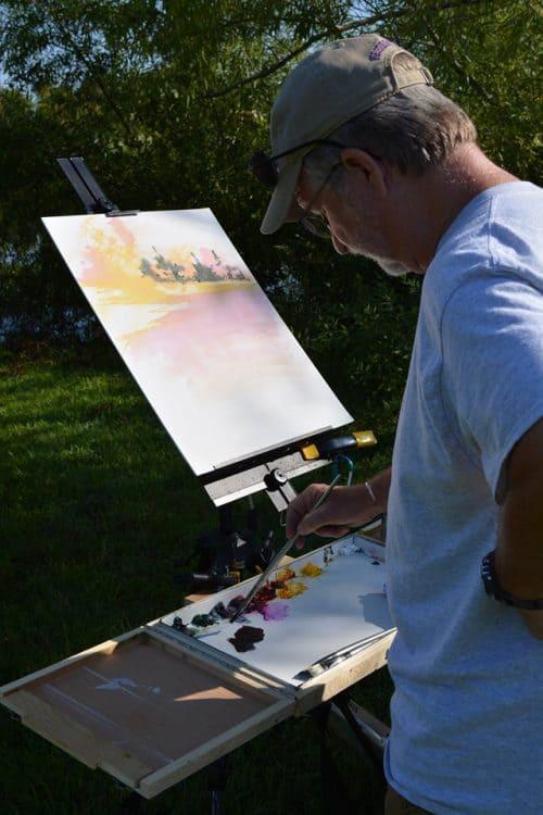 Artist Painting 2019 18