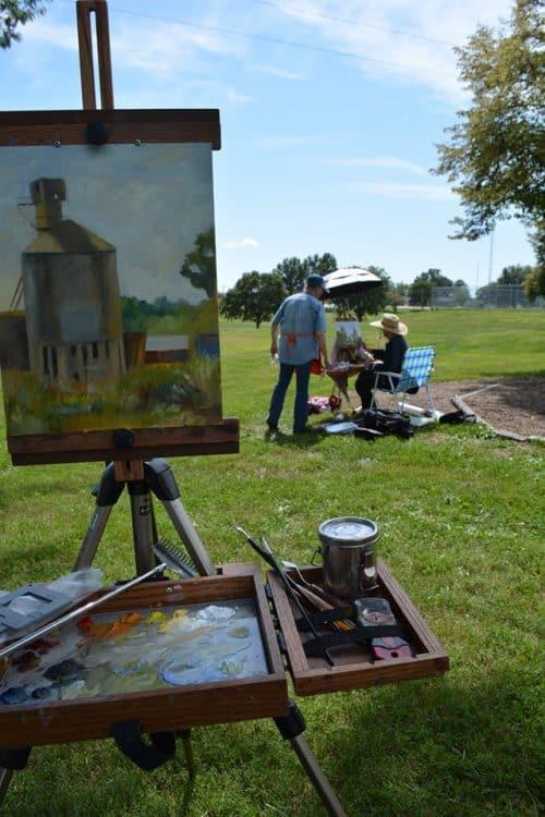 Artist Painting 2019 12