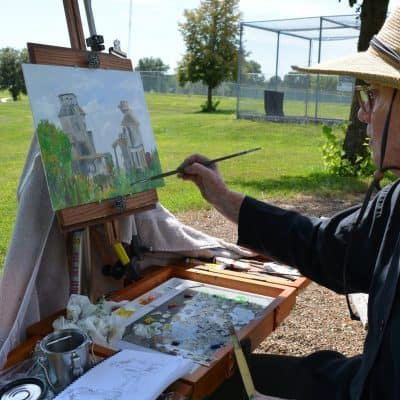 Artist Painting 2019 11