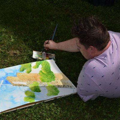 Artist Painting 2019 10