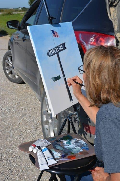 Artist Painting 2019 06