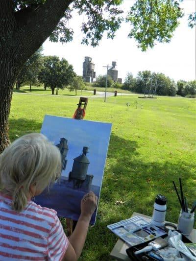 Artist Painting 2019 03